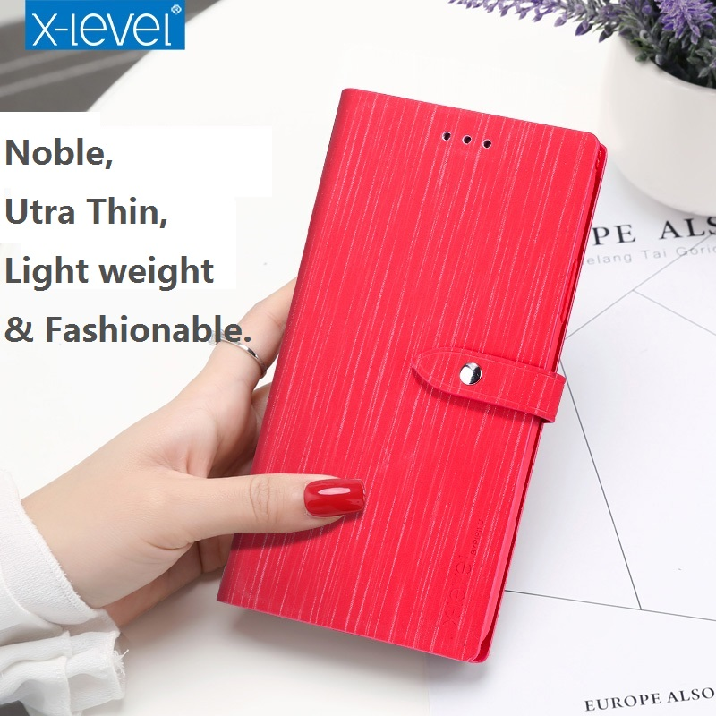 Business Leather Wallet Phone Bag Cases For iPhone X 8 7 6s Plus Case Slim For iPhone X 8 7 6 Plus Case Leather Original 360