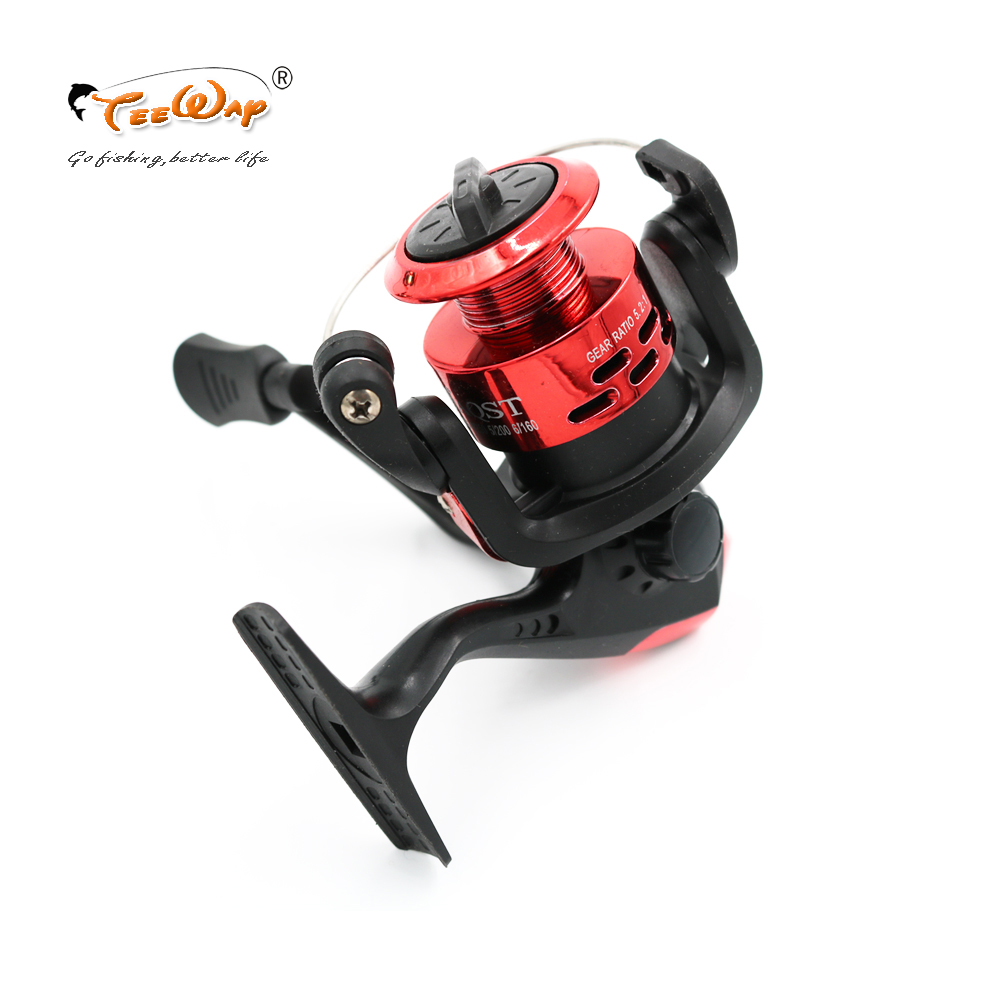 Fishing Reels Small Reel Front Drag Spinning Reels 3BB 5.2:1 Feeder Coil Fishing Tackle