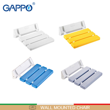 Chair Seats Shower Wall-Mounted Folding GAPPO Bathroom for Children Toilet ABS