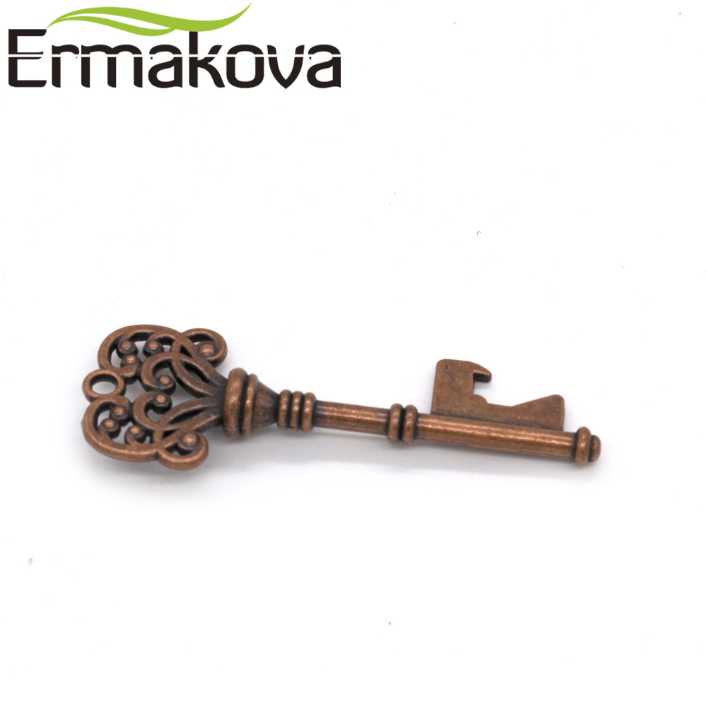 ERMAKOVA 1 Pc Vintage Metal Skeleton Antique Key Bottle Opener ...