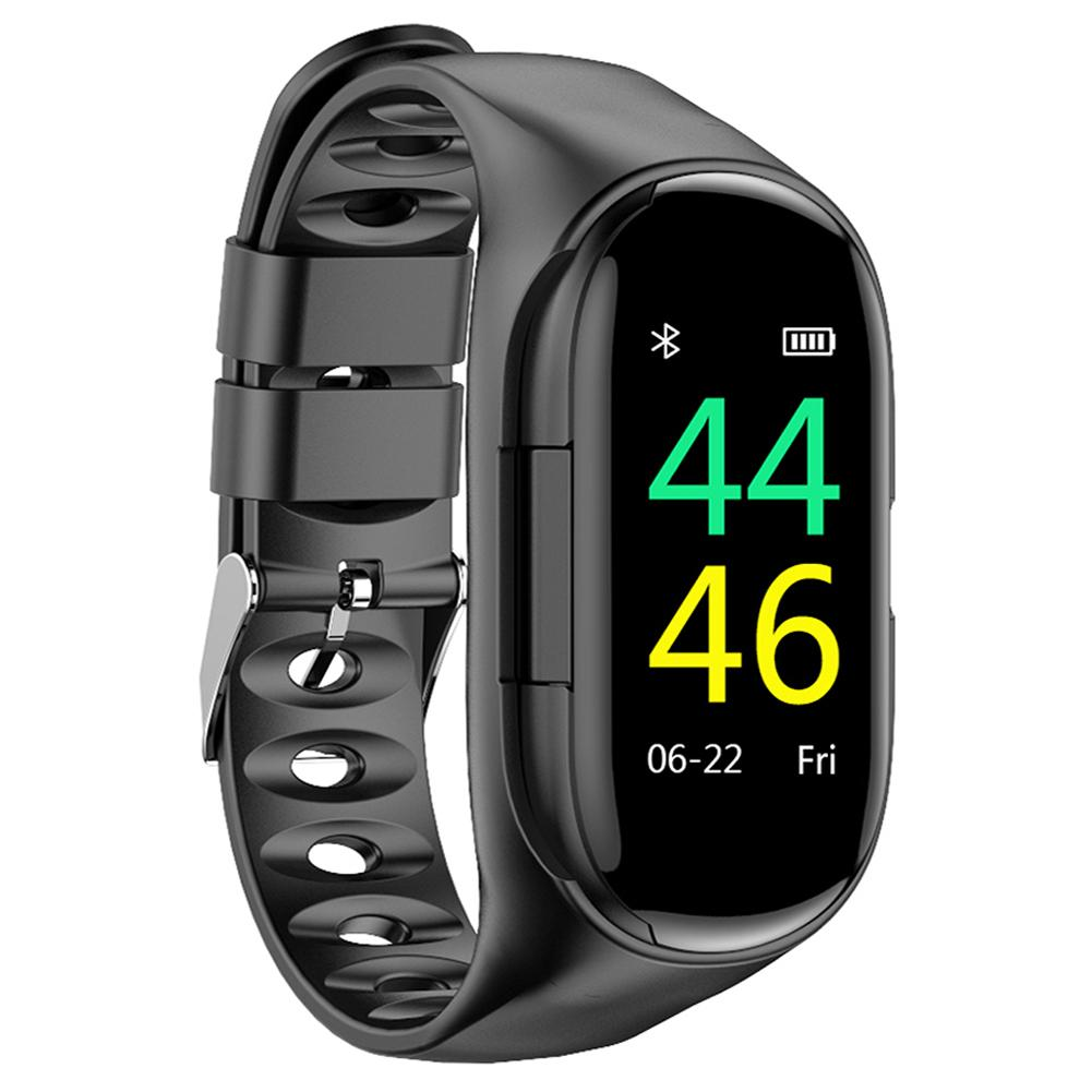 Image 3 - Newest Smart Watch Built in Bluetooth 5.0 Earphone Heart Rate Blood Pressure Monitoring Smart Wristband For IOS Android Unisex-in Smart Wristbands from Consumer Electronics