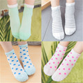 2016 New Spring Summer Moon Stars Stripes Cute Aplacan Cotton Breathable Mesh Socks Baby Socks Boys Girls Socks