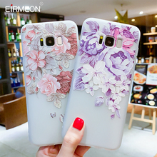 Cases For Samsung Galaxy S8 Plus Flower Soft TPU Cover For S7 Edge S8 Plus S9 Plus S10  Lite Plus Note 9 Silicone Back Case Capa