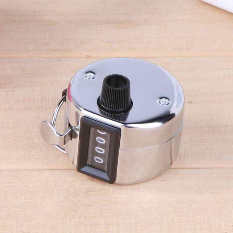 Mini Digitale Hand Tally Counter Dosimeter Rij Counter 4 Cijferig Nummer Handleiding Rekenmachine Vinger Tellen Golf Clicker 0000-9999