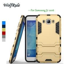 For Case Samsung Galaxy J7 2016 Cover Soft TPU+ Slim PC Stand Case For Samsung Galaxy J7 2016 Case J710 For Samsung J7 2016