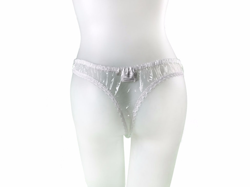 3  Pcs Of Adult Baby Sissy PVC G-STRING UNDERWEAR #T-09