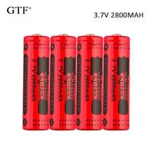 4pcs 3.7V 2800mah 14500 Battery Li-ion Rechargeable Battery for Flashlight rechargeable Battery Portable LED powerbank celular все цены