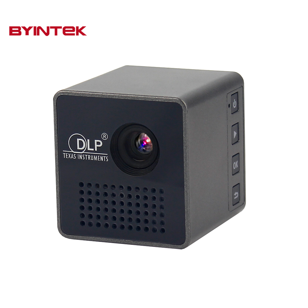 Unic p1 usb video micro dlp byintek mini phoneportable for Micro mini projector