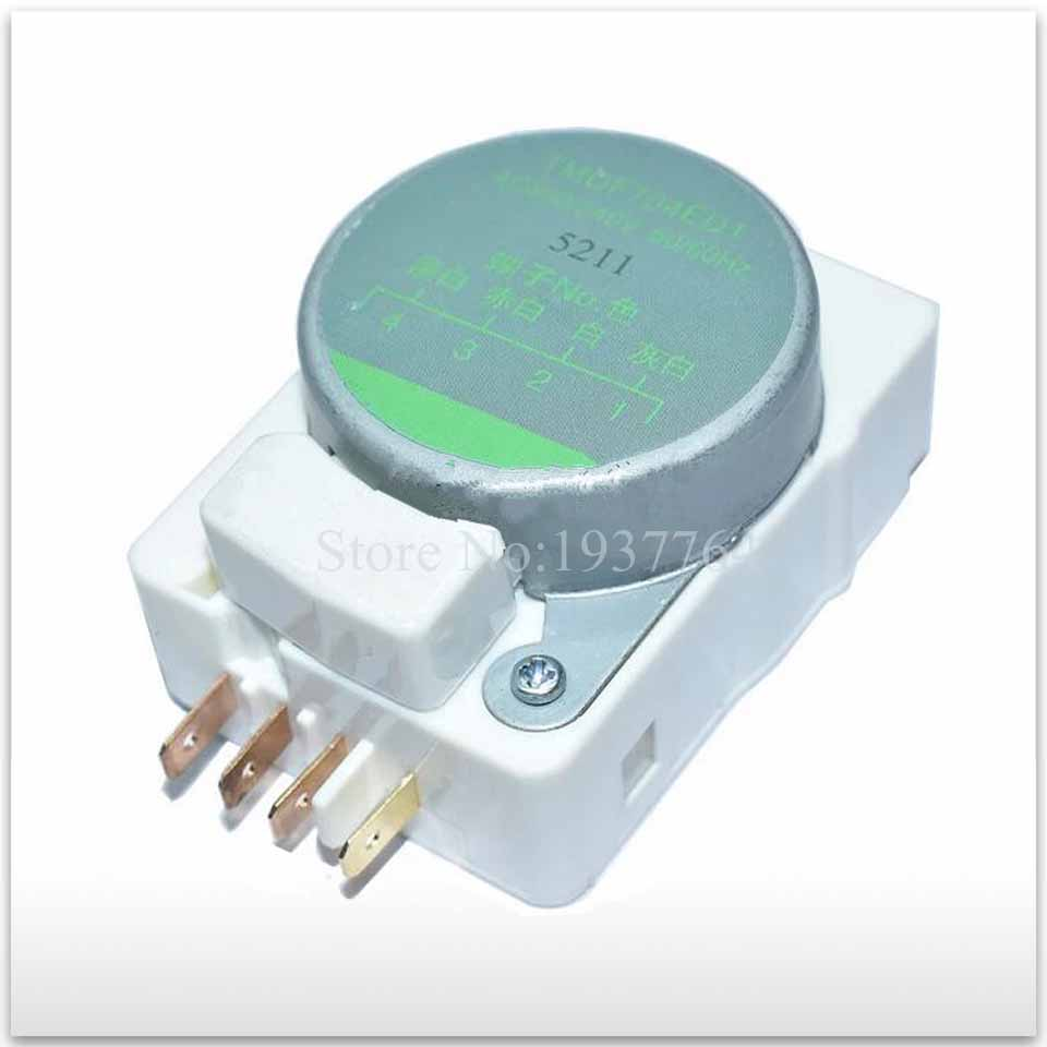 new good working High-quality for refrigerator Parts TMDF704ED1 refrigerator defrosting timer refrigerator parts fridge defrost timer 57 33mm tmdf 702zd1
