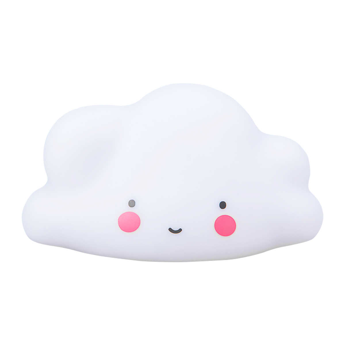 Creative Cloud Night Lamp White Cloud Light Home Decor Baby Light For Kids Bedroom Christmas Gift Bedroom Decorative Lamp