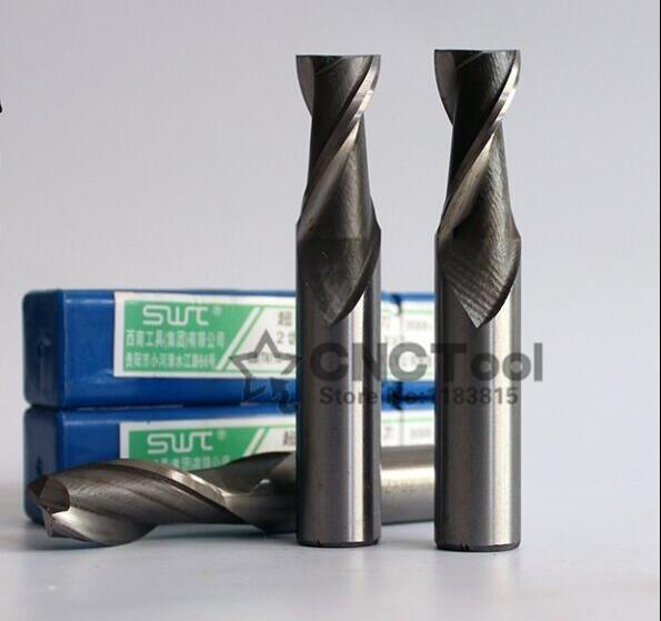 2pcs/set 19.0~25.0MM 2 Flute HSS & Aluminium endmill milling cutter CNC Bit Milling Machine tools Cutting tools.Lathe Tool