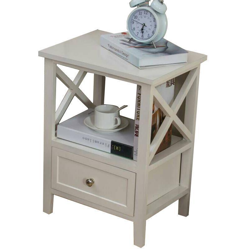 Maison Mesa Noche Side Table Mobilya Veladores European Wooden Quarto Bedroom Furniture Cabinet Mueble De Dormitorio Nightstand