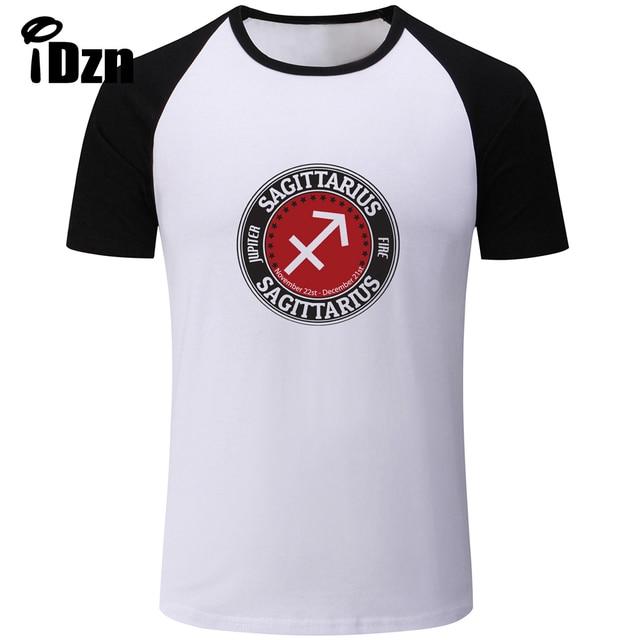 Idzn Unisex Mens T Shirt 12 Constellation For Sagittarius Symbol