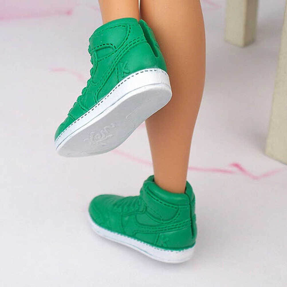 1Pair Fashion Doll Shoes Sneakers Shoes For Prince Ken Male Dolls Accessories For  Boyfriend Ken Baby Toys Kid Gift