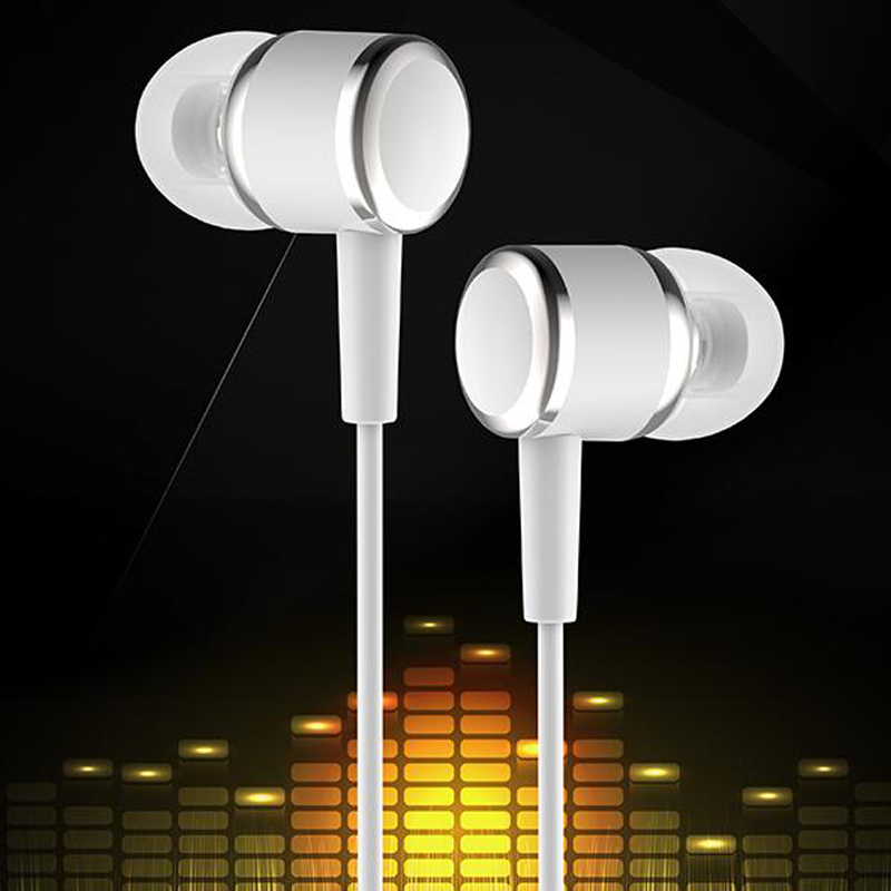 Bests Crystal Clear Sound 3.5mm Jack In-Ear Earphones Bass with Mic Earpods N5 for Sony Xperia Z3 Meizu Mobile Mp3 Mp4 Players 3 5mm in ear earphones with mic