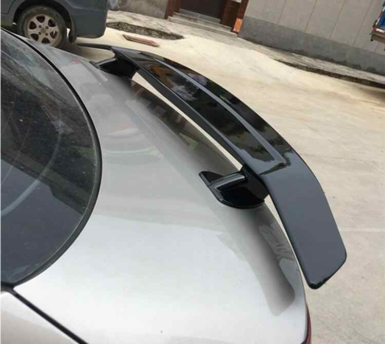 Universal Sedan ABS PAINT CAR REAR WING TRUNK LIP GT SPOILER FOR TOYOTA Corolla 1983-UP(No Drill) BY EMS