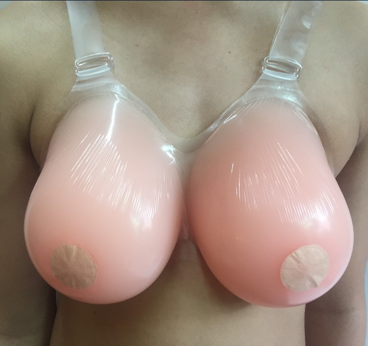 A-C Cup Silicone Breast Forms Realistic Strap Fake Boobs For Cosplay False Breasts Bust Enhancer For Crossdresser Breast Model