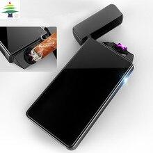 Дуга импульсов USB электрические сигареты, сигары трубка обновление плазменной ветрозащитный зажигалка