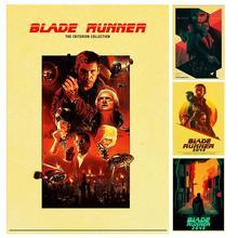 Película de acción clásica de ciencia ficción Blade Runner Retro póster clásico decoración de pared para el Bar del hogar