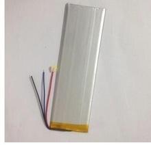 "3 Cables 3248147 2800mA Batería de Cambio Interior para 7 ""Irbis TX18 Reemplazo de Baterías de polímero de litio de la TABLETA número de Pista"