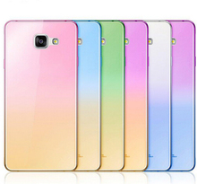 Fashion Soft TPU Gradient Color Cover for Samsung Galaxy J5 J7 2016 Case For Samsung Galaxy A3 A5 A7 2017 S7 Edge S6 S5 S3 Case