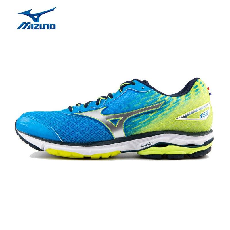 Peso Leggero Maratona Da Jogging Scarpe Da Corsa Ammortizzazione delle MIZUNO Uomini ONDA RIDER 19 Scarpe Sneakers Sportive J1GC165205 XYP428
