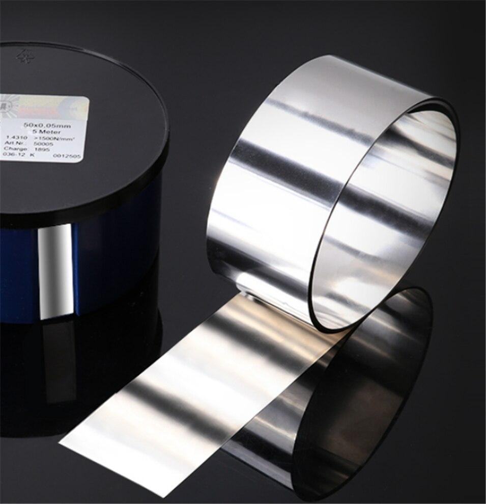 5Meter 0.15mm x25mm 99.96/% pure nickel Strip for battery spot welding machine