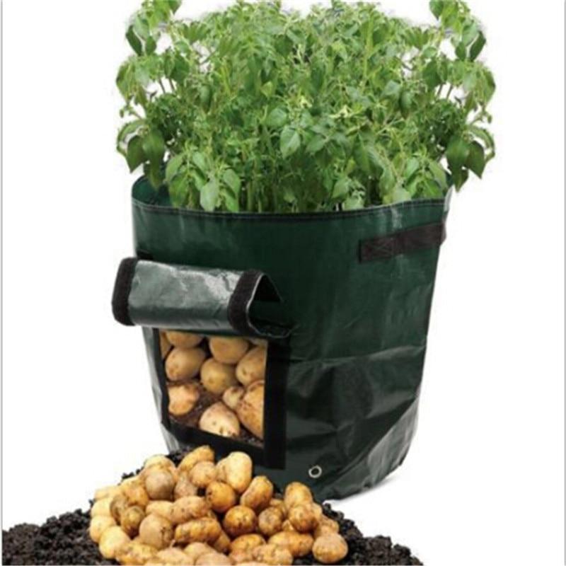 2018102603 bellezza sacchetto di impianto di protezione Dell'ambiente ecologico trapianto sacchetto Fioriere da giardino Forniture xiangli 22.88