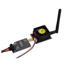 Amplificador de potência de microondas 5.8g transmissor de sinal impulsionador 3 w/4.5 w sem fio av transmissor estender alcance sem fio wi fi amplificador