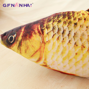 Image 4 - 60/75/100/120 ซม.3D จำลองปลาคาร์พตุ๊กตาของเล่นนุ่มสัตว์ปลา Plush หมอนสร้างสรรค์โซฟาหมอนโซฟาหมอนของขวัญของเล่นเด็ก