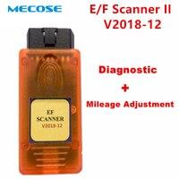 LatestV2018.12 E/F SCANNER II for BMW Diagnostic + Mileage Adjustment