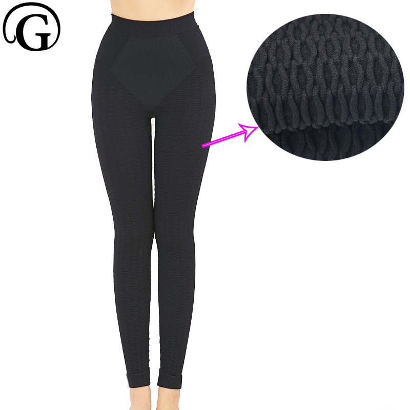 f994b1cb0d Hot Shapers Pants For Women Shapewear Slimming Sauna Leg Shaping Effect  Slender Legs Massage Butt Lifter Pant Leggings