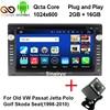 Sinairyu Cota Core Android 6.0 2 DIN Car DVD Multimedia for VW JETTA GOLF MK5 MK6 GTI PASSAT B6 POLO SKODA Fabia GPS Navigation