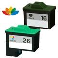 Совместимых Lexmark 16 26 Картридж 10N0016 10N0026 Для X2250 X75 X1185 X1150 X1160 X1170 X1180 X1185 X1190 2PK