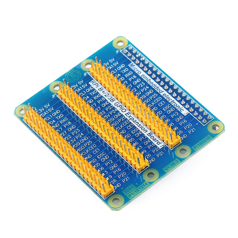 Image 2 - Raspberry Pi  GPIO Expansion Extension Board One Row To Be Three Rows GPIO For Raspberry Pi 3 Pi 2 Pi Model B+-in Demo Board Accessories from Computer & Office