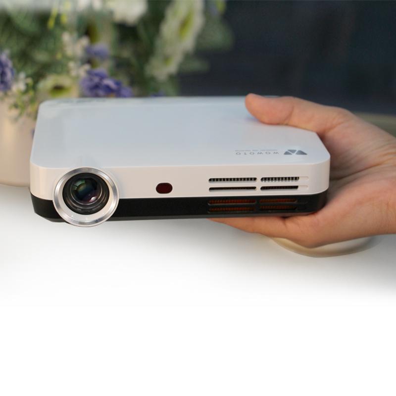 WOWOTO H8 Mini DLP Projector HDMI Home Theater beamer multimedia proyector Full HD 1080P video