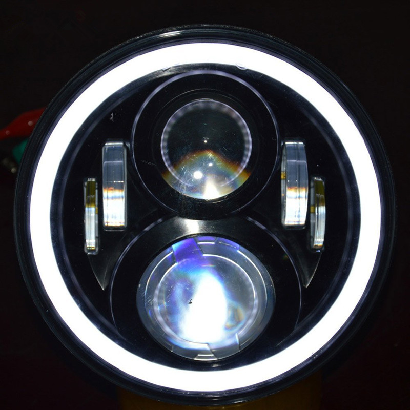 For Honda Motorcycle Accessories Headlight Lamp For Honda CB400 CB500 CB1300 Hornet 250 600 900 VTEC / VTR 250 7