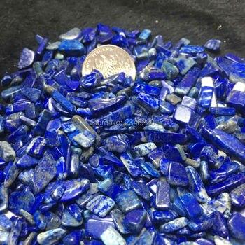 7-9mm 1000g Natura Lapis Lazuli Crystal QUartz Gravel fish tank flower crystal gems stone Crystal Healing wholesale