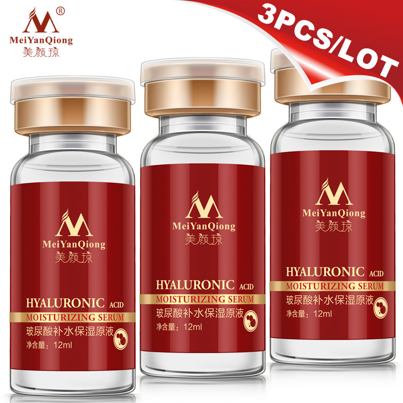 High Quality Snail 100% pure plant extract Hyaluronic acid liquid whitening blemish serum ampoules anti-acne Rejuvenation Serum 1
