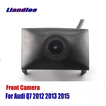Liandlee AUTO CAM Car Front View Camera Grill Embedded For Audi Q7 2012 2013 2015 ( Not Reverse Rear Parking Camera ) liandlee car front view camera auto cam not reverse rear parking camera for toyota auris 2012 2018 2013 2014 2015