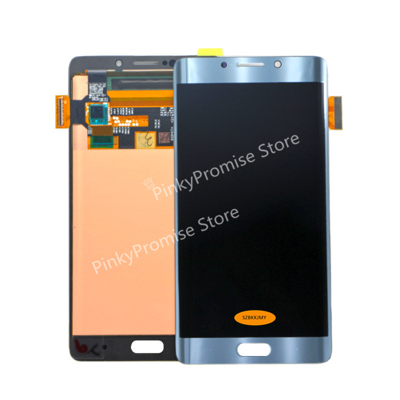 100 Tested 5 7 1920x1080 AMOLED Display For Xiaomi Mi Note 2 LCD Display Note2 Touch