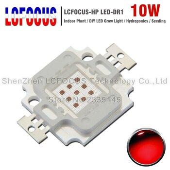 High Power 10W Grow LED COB SMD Lamp Deep Red 660nm 630nmDIY 10W 20W ...