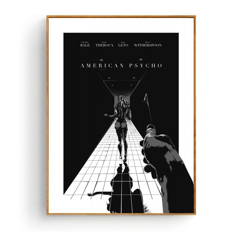 Psycho Movie Art Silk Poster 12x18 24x36