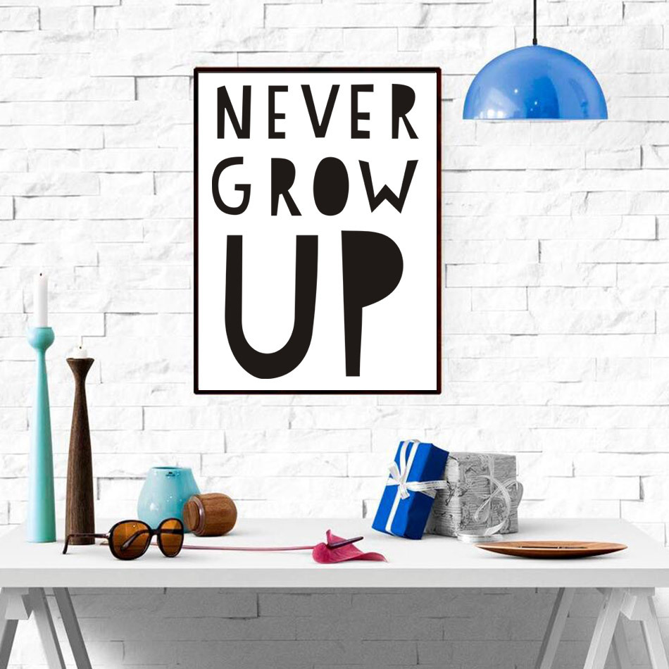 Us 4 19 30 Off Gy47 English Alphabet Inspirational Quotes Canvas Art Simple Wall Poster For Living Room Home Decor Frame Not Include In Painting
