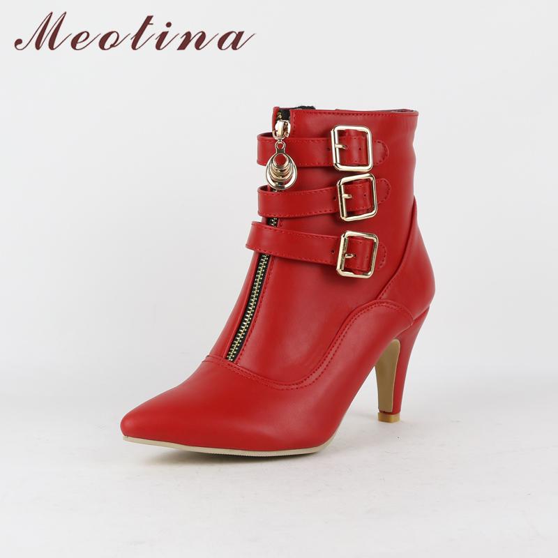 women high heels ankle boots pointed toe ladies shoes - free shipping! Women High Heels Ankle Boots Pointed Toe Ladies Shoes – Free Shipping! HTB1QDXVgKEJL1JjSZFGq6y6OXXa6