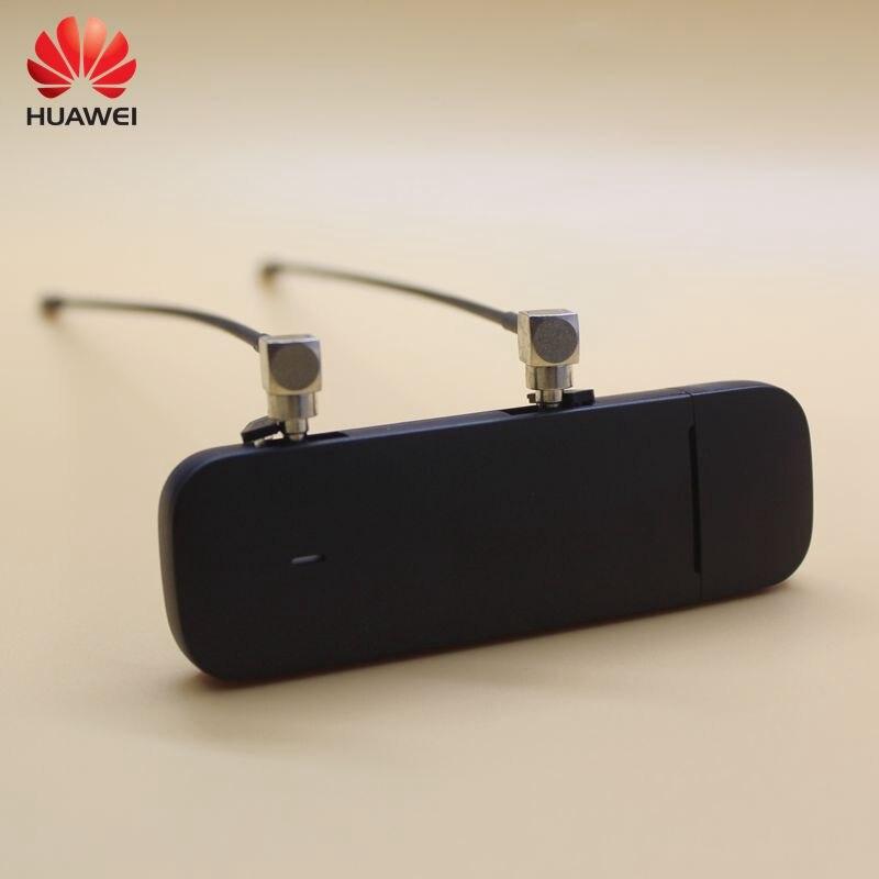 Débloqué nouveau Huawei E3372 E3372h-607 plus une paire d'antenne 4G LTE USB Dongle 150 Mbps Modem USB modem PK K5160