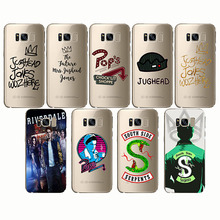 American Hot TV Riverdale Soft Silicone Phone Case Cover Coque Funda Capa for Samsung  S8 S9 S10PLUS Note10 pro A8 PLUS