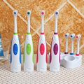 Chu Cheng Oral Care Waterproof Adults Electric Toothbrush, Rotary  Electric Tooth Brush, High Quality Kids Battery Toothbrush