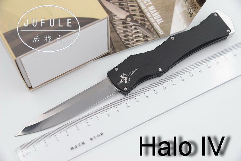 JUFULE Halo Iv 4 V 5 Combat Troodon D2 blade aluminum handle camping hunting survival outdoor EDC hand tool set kitchen knife dicoria made halo iv 4 troodon d2 blade aluminum handle camping hunting survival outdoor edc tool dinner kitchen knife set