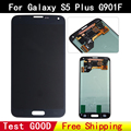 100% test good original for Samsung Galaxy S5 plus G901f  LCD display touch screen Digitizer black for G901f display